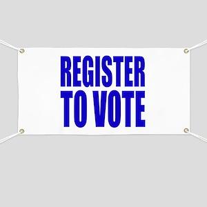 Register To Vote Banner