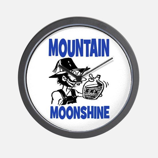 MOUNTAIN MOONSHINE Wall Clock
