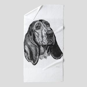 Basset Hound Beach Towel