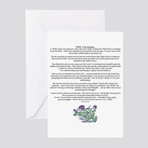 Daughter greeting cards cafepress mom a true meaning of love greeting cards m4hsunfo
