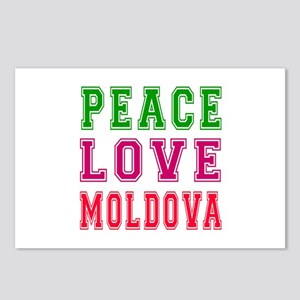 Peace Love Moldova Postcards (Package of 8)