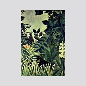 Rousseau - The Equatorial Jungle, Rectangle Magnet