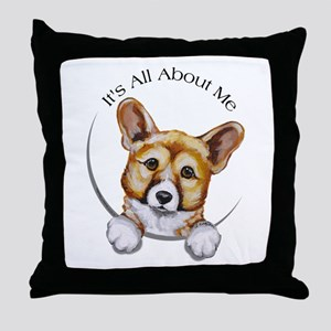 Classic Corgi IAAM Throw Pillow