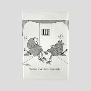 Prison's Feng Shui Rectangle Magnet