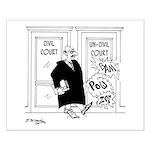 Uncivil Case Small Poster