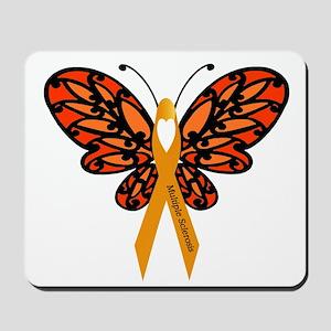 MS Heart Butterfly Mousepad