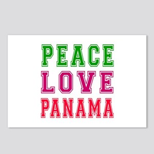 Peace Love Panama Postcards (Package of 8)