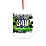 340 SWINGER GREEN Ornament (Round)