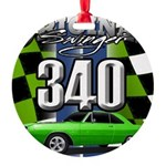 340 SWINGER GREEN Ornament