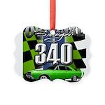 340 SWINGER GREEN Ornament