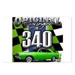 340 SWINGER GREEN Postcards (Package of 8)