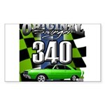 340 SWINGER GREEN Sticker