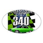 340 SWINGER GREEN Sticker