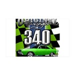 340 SWINGER GREEN Wall Decal