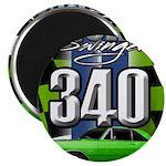 340 SWINGER GREEN Magnets