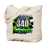340 SWINGER GREEN Tote Bag
