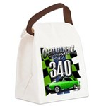 340 SWINGER GREEN Canvas Lunch Bag