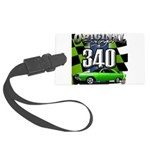 340 SWINGER GREEN Luggage Tag