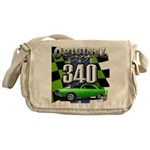 340 SWINGER GREEN Messenger Bag