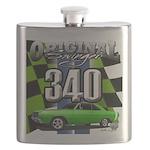 340 SWINGER GREEN Flask