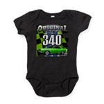 340 SWINGER GREEN Baby Bodysuit
