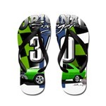 340 SWINGER GREEN Flip Flops