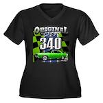 340 SWINGER GREEN Plus Size T-Shirt