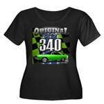 340 SWINGER GREEN Plus Size T-Shirt