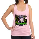 340 SWINGER GREEN Racerback Tank Top