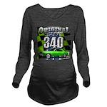 340 SWINGER GREEN Long Sleeve Maternity T-Shirt