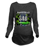 340 SWINGER GREEN Long Sleeve Maternity T-Shirt