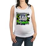 340 SWINGER GREEN Maternity Tank Top