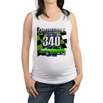 340 SWINGER GREEN Maternity Tank Top