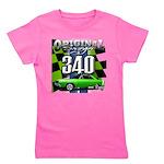 340 SWINGER GREEN Girl's Tee