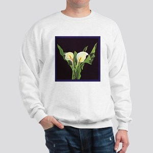 Vintage Lily Flowers Sweatshirt