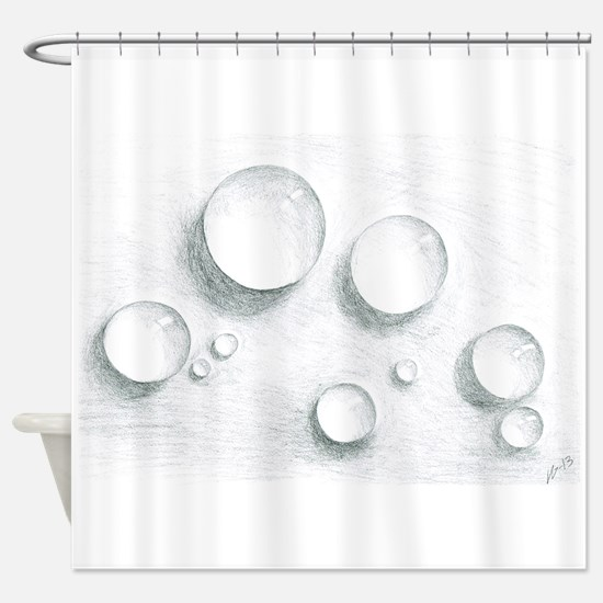 Funny Bubble Shower Curtain