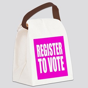 Register To Vote Canvas Lunch Bag
