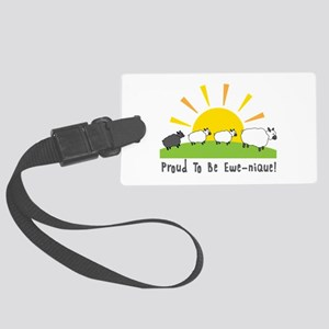 Proud To Be Ewe-nique Luggage Tag