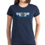 Invisible NSA Women's Dark T-Shirt