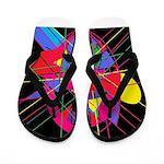 FitStyle/Zumba Wear by Traci K Flip Flops