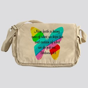 HEBREWS 11:1 Messenger Bag