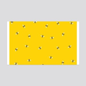 Baby Bees 35x21 Wall Decal