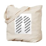 Straight Illusion Tote Bag
