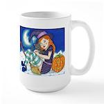 Kitten and Witch Mugs