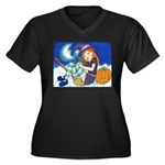 Kitten and Witch Plus Size T-Shirt