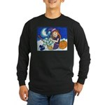 Kitten and Witch Long Sleeve T-Shirt