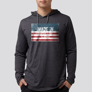Made in Dauphin Island, Alabam Long Sleeve T-Shirt