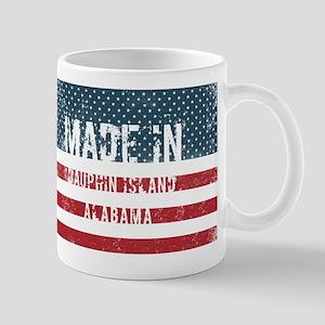 Made in Dauphin Island, Alabama Mugs
