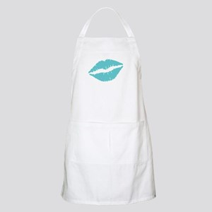 Blue Lips Apron