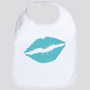 Blue Lips Bib